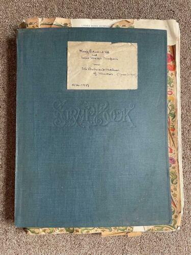1936-1937 King Edward VIII and Wallis Simpson Royal Family Scrapbook