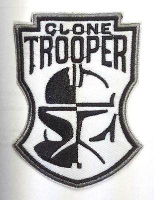 Star Wars - Aufnäher - Clone Trooper bw - Uniform Patch neu zum - Clone Trooper Uniform