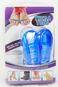 Thera-Toes-TOE-STRAIGHTENERS-Stretchers-Pilates-FITNESS