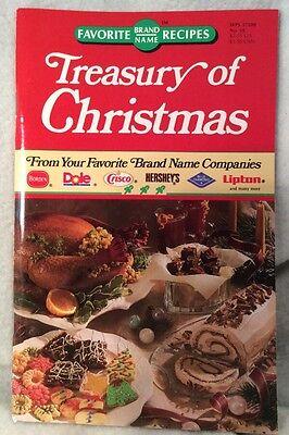 TREASURY OF CHRISTMAS - FAMOUS BRAND NAME