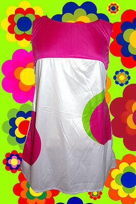 112✪ Twiggy Hippie Kostüm Panton Muster Retro Minikleid 60er 70er Jahre 4 - Hippie Kostüm Muster