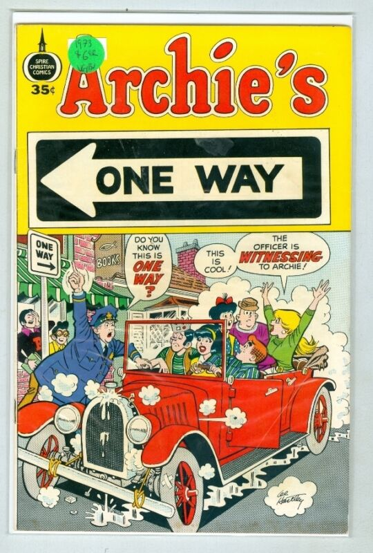Archie's One Way 1973 VG/FN