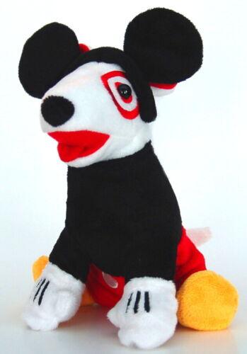 Target Dog Plush Mickey Mouse Dog Stuffed Toy Bullseye - Very Rare