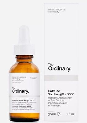 The Ordinary Caffeine Solution 5% + EGCG 30ml BNIB For Puffiness & Dark Circles