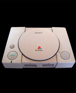 Ps1 playstation console complete with games