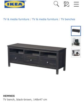 IKEA HEMNES TV BENCH