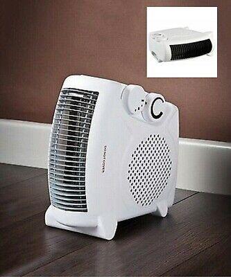 Calefactor Aire Caliente Eléctrico con Función Frío y 2 Potencias 1000W y...