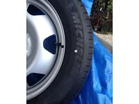 "New VW T5/6 17"" Steel wheels & Tyres"