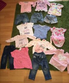 Baby girl clothing 6-9 months