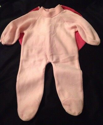 Infant 12-18 Months Pink Heart Ladybug Halloween Costume
