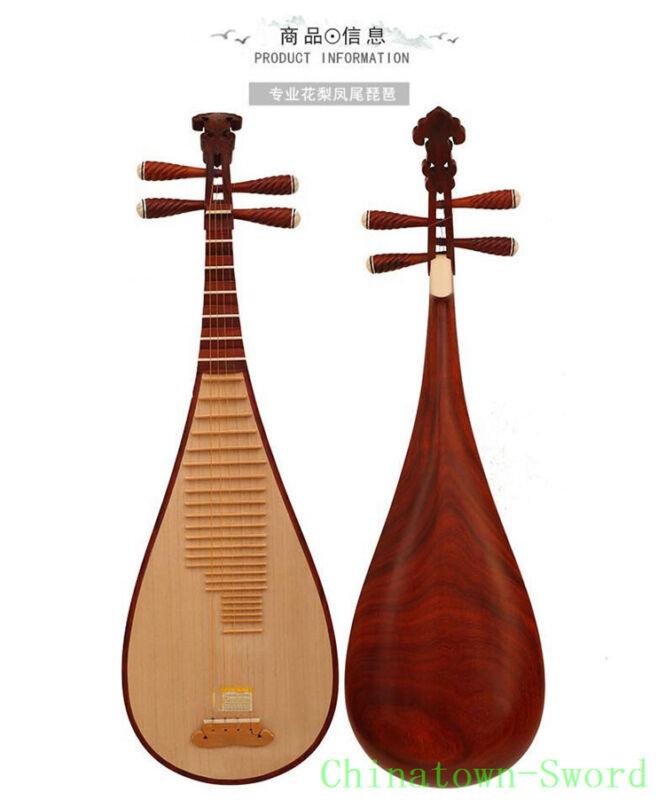 Chinese Soprano Pipa Lute Guitar Jiangyin Liuqin - Musical Instrument #4159