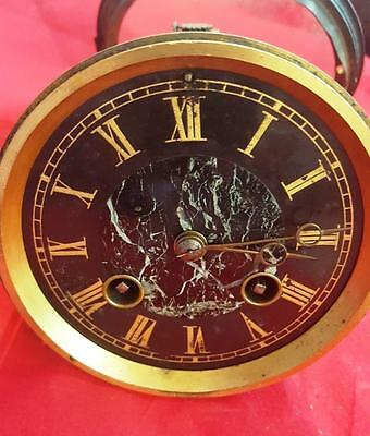 19th Century French clock movement (Japy) with dial and back