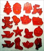 Christmas Cookie Cutters Lot