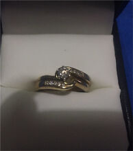 9ct Gold Diamond Engagement Set Murarrie Brisbane South East Preview