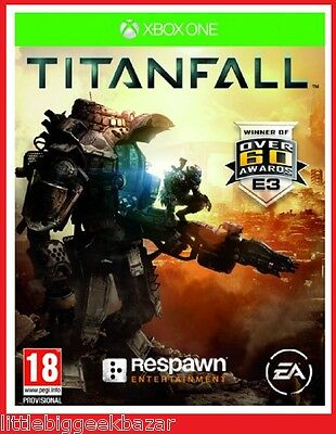 TITANFALL X-Box One Xbox Microsoft Jeu Video titan fall sous Blister # NEUF #