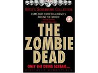 The zombie dead rare dvd