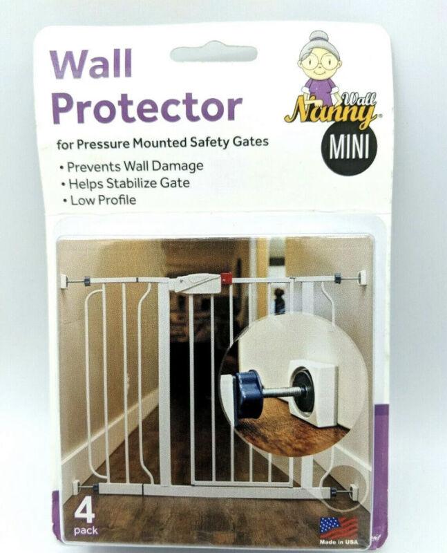 Wall Nanny Baby Gate Wall Protector (4 Pack Made in USA) Protect Walls & Doors