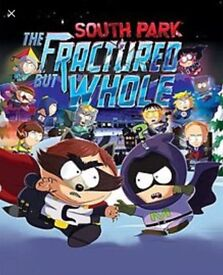 Xbox one South Park the fractured hole