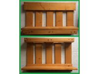 Pair of Wall shelves made from Pallets