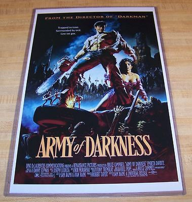 The Evil Dead Army of Darkness 11X17 Movie Poster Ash Original version