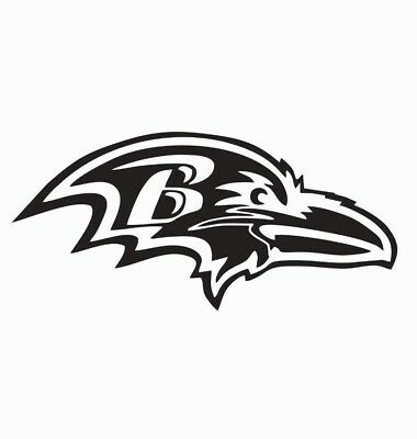 Baltimore Ravens NFL Football Vinyl Die Cut Car Decal Sticker - FREE SHIPPING](Baltimore Ravens Football)