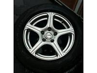 fox evo 6 5x112 alloy wheel