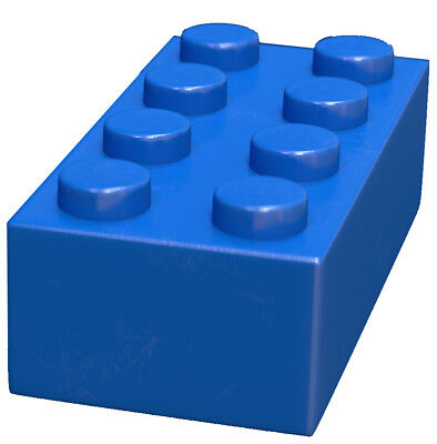 200 Pieces Generic Blue 2x4 bricks Building blocks