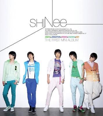 SHINEE [REPLAY] 1st Mini Album CD+Photo Book+GIFT CARD K-POP SEALED