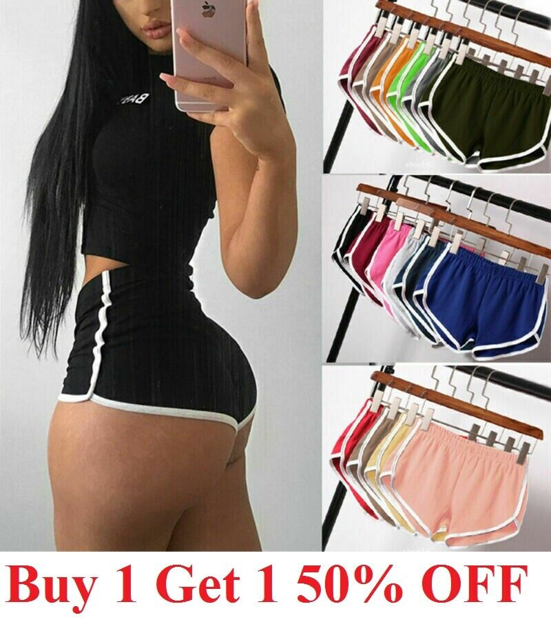 Women Sports Shorts Yoga Casual Gym Lady Jogging Lounge Summer Beach Pants Clothing, Shoes & Accessories