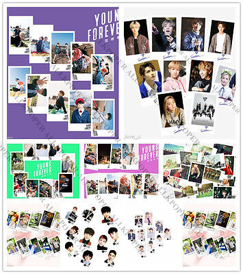 30pcs Kpop BTS In Bloom Lomo Card Bangtan Boys EXO Seventeen BLACKPINK Postcard