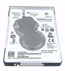 "1TB HDD 2.5"" Internal SEAGATE SATA LAPTOP WIN MAC PS3 / 4"