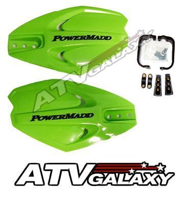 PowerMadd Power X Handguards GREEN Hand Guards Ski Doo Snocross Snowmobile
