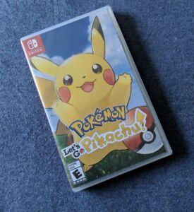 Pokémon Let's Go Pikachu - Nintendo Switch