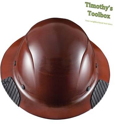 Lift Safety Hdf-15ng Dax Natural Full Brim Hard Hat- New