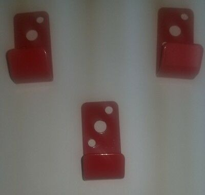 3 Pack Amerex Generic Water Fire Extinguisher Bracket Fire Dept. Approved