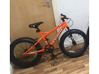 """Coyote big boy fat tyre bike 20"""" wheels 1 month old only used twice unwanted gift will swap"""