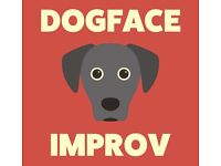 Improv comedy drop in with Dogface Improv