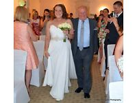 Alfred Angelo wedding dress size 16, beautiful