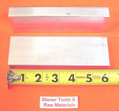 2 Pieces 34 X 2 X 6 Aluminum 6061 Flat Bar .75x 2 Solid T6511 Mill Stock