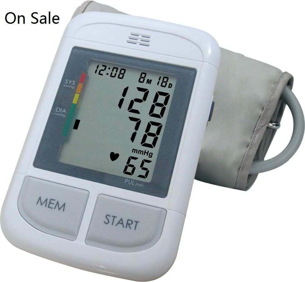 Andon Automatic Blood Pressure Monitor With Voice Out Arrhythmia Detection IHB  - $5.50