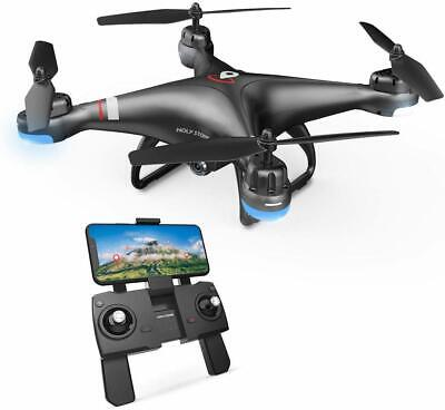 Pure Stone HS110G FPV Drone with 1080P HD Camera Video Quadcopter GPS Follow Me
