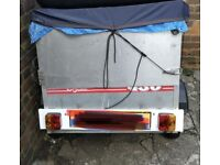 Small camping trailer