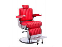 Heavy duty barber chair. Belmont style barber chair. Turkish barber chair