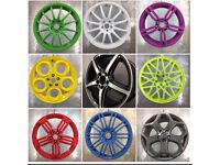Wheel refurbishment / powder coating / wheel repairs / welding