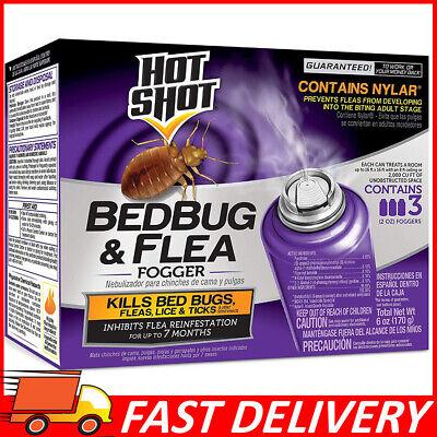 Bed Bug Bomb Insect Fogger Kill Mosquito Flies Fleas Ticks Bed Bugs Killer 3 Pcs