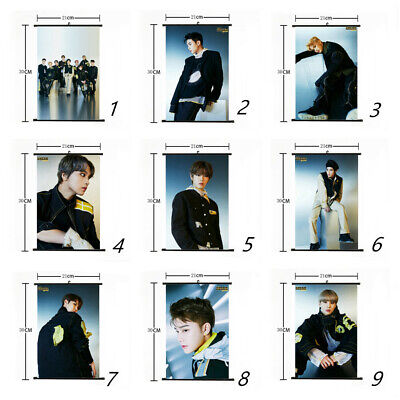Kpop NCT 127 Hang Up Poster We Are Superman Mini Wall Scroll Picture Home (Superman Picture)