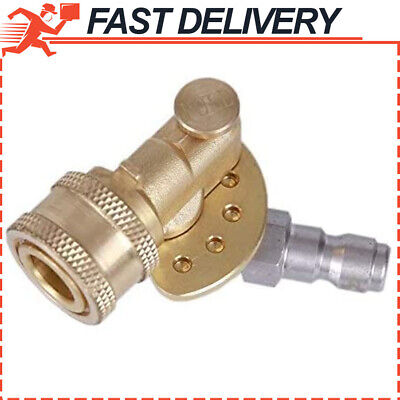 High Pressure Washer Nozzle Tips Wand Pivot Coupler Power Spray Kit Max 5000 PSI