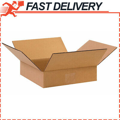Ping Boxes 25 Pack 6x6x2 Cardboard Mailing Storage Small Packing Boxes