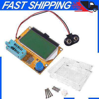 Transistor Tester Resistance Capacitance Diode Triode Capacitor Esr Scr Meter