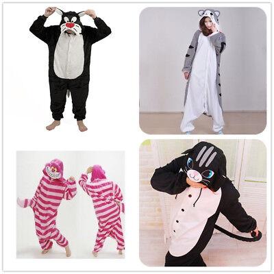 Cheshire Käse Katze Onesiee Kigurumi Maskenkostüm Kapuzenpulli (Käse Kostüme)